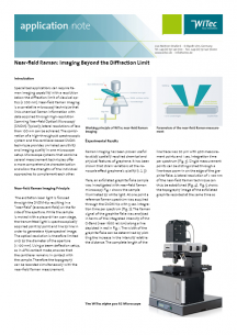 WITec AppNote Nearfield Raman Imaging